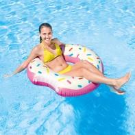 Nafukovačka Intex donut odhryznutý 107cm