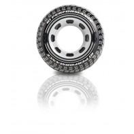 Plávacie koleso Intex pneumatika s držiakmi 114cm