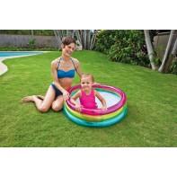 Intex 57104 Bazén detský dúha 86*25cm