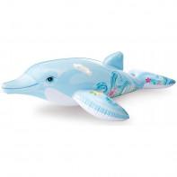 Intex 58535 Nafukovačka delfín ornament 175*66cm