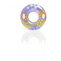 Plávacie koleso s madlami Intex, vzor hviezdy 91cm