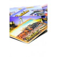 Magnetka 3D Bratislava hrad+loď
