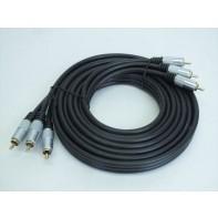 3 RCA kábel - 3 m, C-7-10