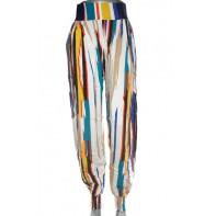 Nohavice dámske - dúhové
