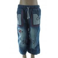 Detské rifľové nohavice kotva
