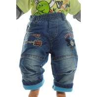 Nohavice detské - OXFORD zateplene