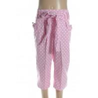 Detské trojštvrťové nohavice - malá bodka