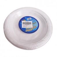 Plastové jednorázové taniere 20ks, PoloTrade