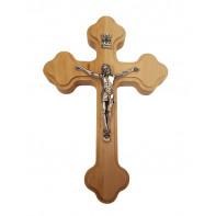 Drevený krížik s Ježišom