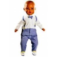 Detská bábika s vlasmi aj bez vlasov