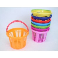 Plastový košík na štipce guľatý