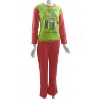 Bavlnené dámske pyžamo - sladké prekvapenie