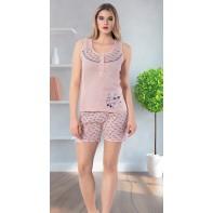 Dámske pyžamo - motýliky