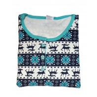 Dámske pyžamo - vianočný motív