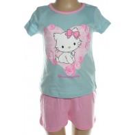 Pyžamo Charmmy Hello Kitty - srdce