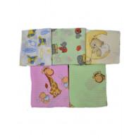 Bavlnené plienky s detským motívom