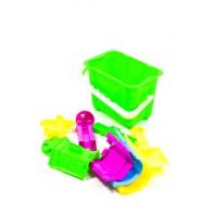 Plastový kýblik s formičkami, PoloTrade