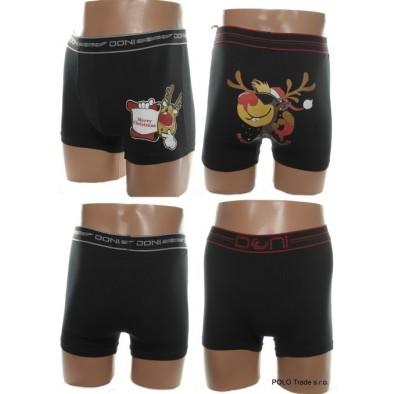 Pánske vianočné boxerky sob - sede M