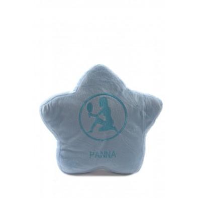 Plyšový vankúš hviezda - Panna - znamenie horoskopu, 32cm, PoloTrade