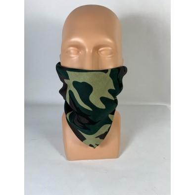 Bavlnená maskáčová šatka 54*54cm
