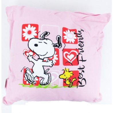 Vankúš Snoopy - Best friends 32x32cm, PoloTrade
