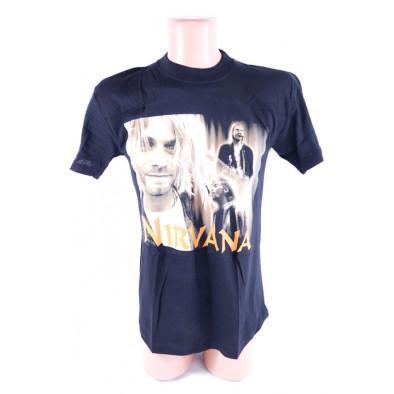 Pánske metalové tričko Nirvana
