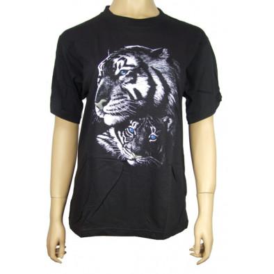 Pánske tričko - tigre, C-2-15037