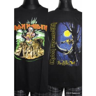 Pánske metalové tričko Iron Maiden