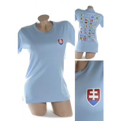 Dámske tričko - SLOVENSKO svk slovakia