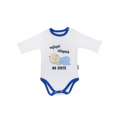 Chlapčenské kojenecké body - najlepší chlapček