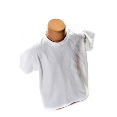 Detské biele tričko - na potlač, C-2-923