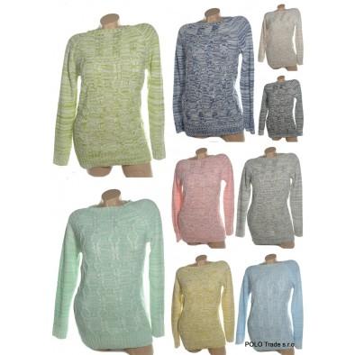 Dámsky sveter - pletený