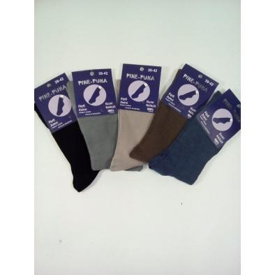 Zdravotné pánske ponožky jemný lem