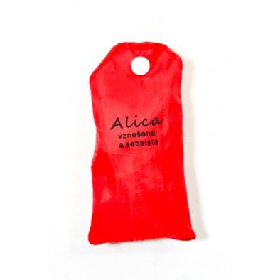 Nákupná taška s menom ALICA - vznešená a sebaistá, C-24-7704