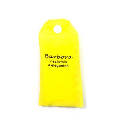 Nákupná taška s menom BARBORA - nezávislá a elegantná, C-24-7708