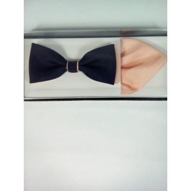 Pánsky set - motýlik s vreckovkou 2farebný