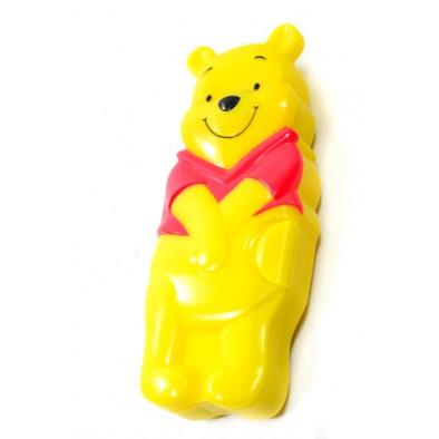 Detský plastový svietiaci peračník Macko Pooh, PoloTrade