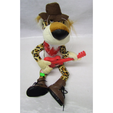 Plyšový tiger - gitarista