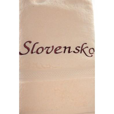 Uterák Slovensko - Svetlo oranžový svk slovakia 87*49cm