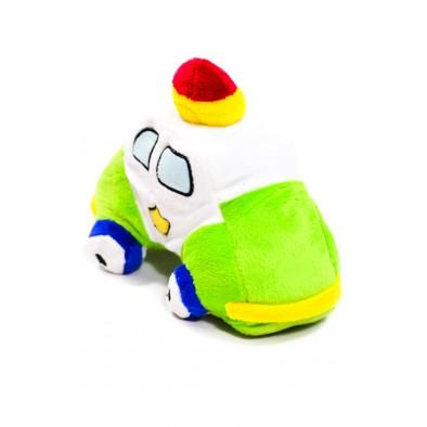 Plyšová hračka - policajné auto 23 cm