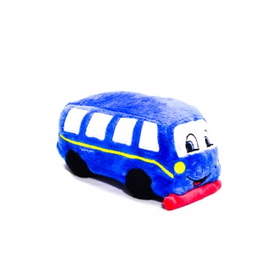 Plyšová hračka - autobus 20 cm
