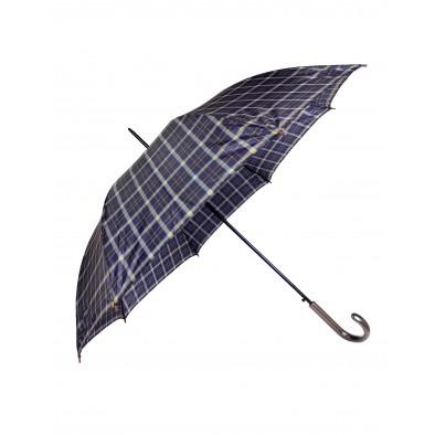 Dáždnik - modré káro