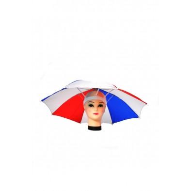 FAN Dáždnik na hlavu SVK s píšťalkou P65cm