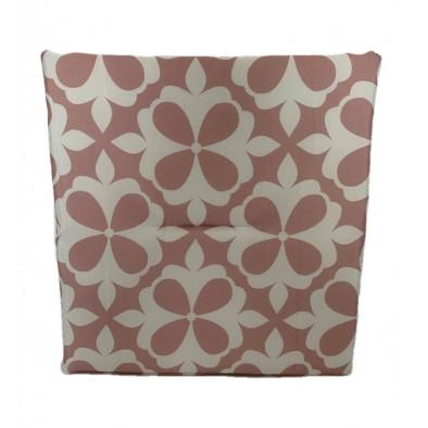 Jednostranný sedák ružový-kvety, PoloTrade