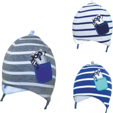 Detská čiapka - pásikavá