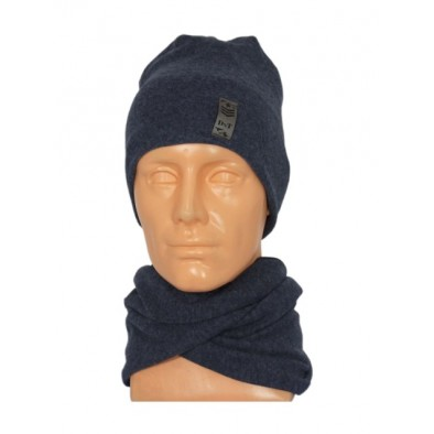 Set zimná čiapka a nákrčník Zawodowiec