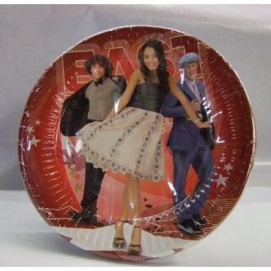 Papierové taniere veľké - HSM East, 10ks, PoloTrade