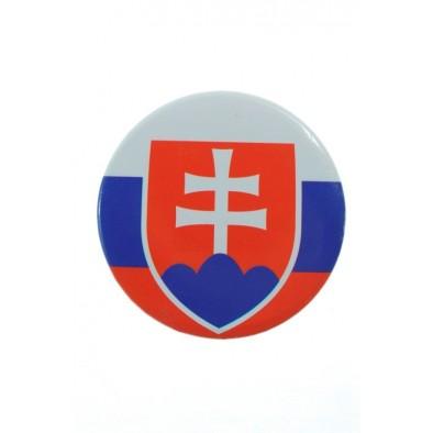 Odznak SLOVAKIA 4,5cm