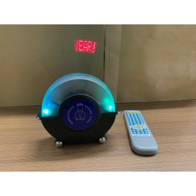Svetelná reklama Message Clock - mod3