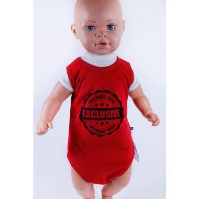 1x Body-/det/limitovana edicia, 10 - cervena farba, Veľkosť/rozmer/objem: 59 - 3m, 2-965-10015224, 1x Body-/det/limitovana edicia, 10 - c..., B2-965